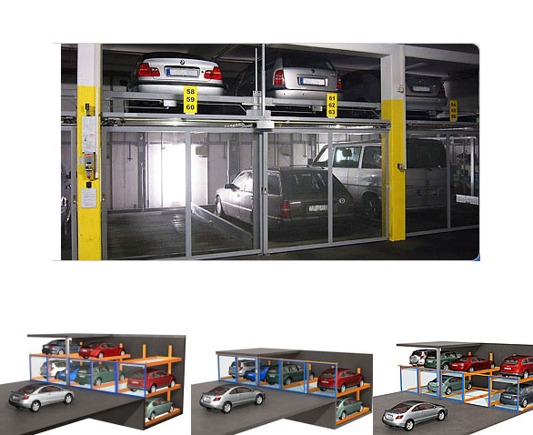 Overview of semi-automatic parking systems.